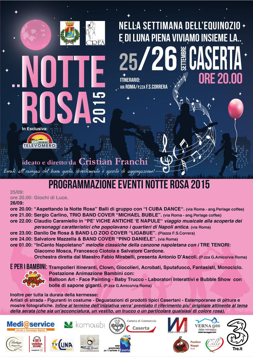 NOTTE ROSA