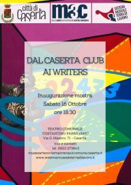 DAL CASERTA CLUB AI WRITERS LOCANDINA MOSTRA