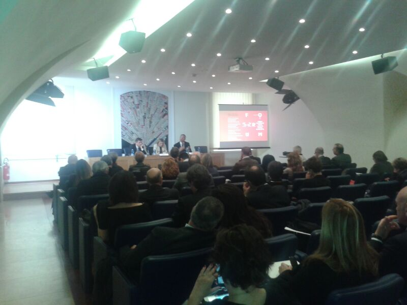 conf stampa roma forum